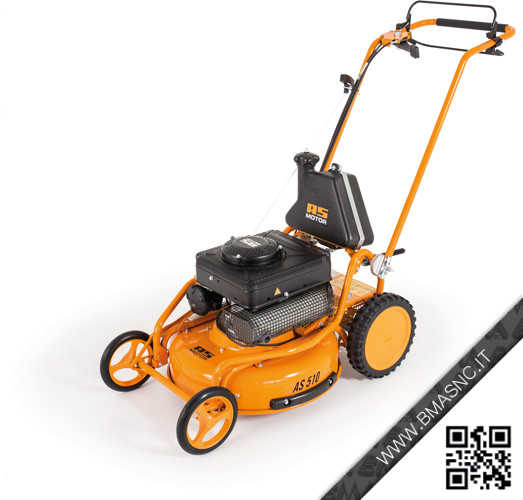 AS MOTOR AS510 ProClip 2T ES - TOSAERBA MULCHING PROFESSIONALE
